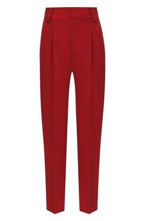 Женские брюки REDVALENTINO красного цвета, арт. UR3RBC90/2EU | Фото 1