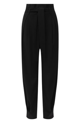 Женские брюки из вискозы и шерсти REDVALENTINO черного цвета, арт. UR3RBC95/WBP | Фото 1