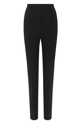 Женские брюки из вискозы и шерсти REDVALENTINO черного цвета, арт. UR3RBD00/WBP | Фото 1