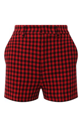Женские шорты REDVALENTINO красного цвета, арт. UR3RFD30/55V | Фото 1
