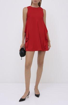 Женское платье из вискозы REDVALENTINO красного цвета, арт. UR3VAR25/3SM | Фото 2