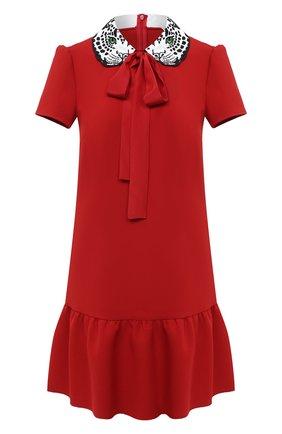 Женское платье REDVALENTINO красного цвета, арт. UR3VAR40/57W | Фото 1