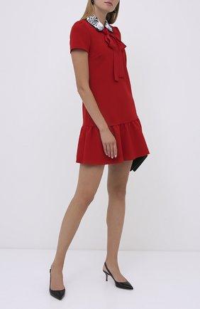 Женское платье REDVALENTINO красного цвета, арт. UR3VAR40/57W | Фото 2