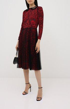 Женское платье REDVALENTINO красного цвета, арт. UR3VAR55/57D | Фото 2