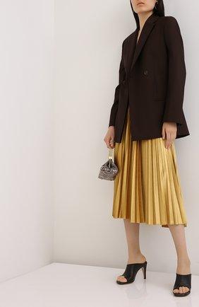 Женская юбка-миди VALENTINO желтого цвета, арт. UB3MD01W5MD   Фото 2