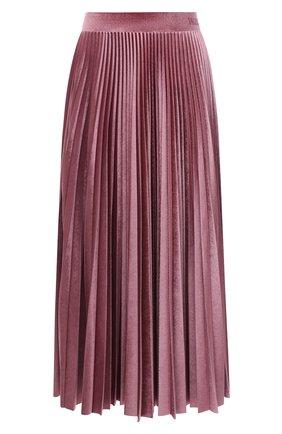 Женская юбка-миди VALENTINO розового цвета, арт. UB3MD01W5MD | Фото 1