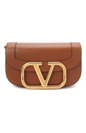 Женская сумка valentino garavani supervee VALENTINO коричневого цвета, арт. UW2B0G09/ZXL   Фото 1