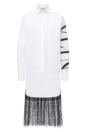 Женское платье VALENTINO черно-белого цвета, арт. UB3VA14G5DN | Фото 1