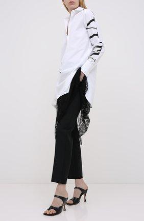 Женское платье VALENTINO черно-белого цвета, арт. UB3VA14G5DN | Фото 2