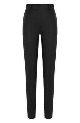 Женские кожаные брюки VALENTINO черного цвета, арт. UB3NF00Y45H | Фото 1