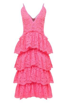 Женское платье KALMANOVICH розового цвета, арт. SS2001 | Фото 1