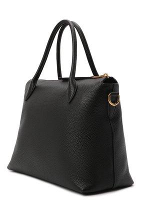 Женская сумка PRADA черного цвета, арт. 1BA157-2BBE-F0002-NOX | Фото 2
