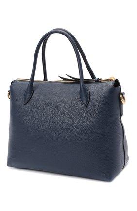 Женская сумка PRADA синего цвета, арт. 1BA157-2BBE-F0216-NOX | Фото 2