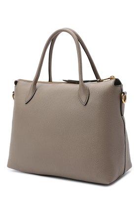Женская сумка PRADA серого цвета, арт. 1BA157-2BBE-F0572-NOX | Фото 2