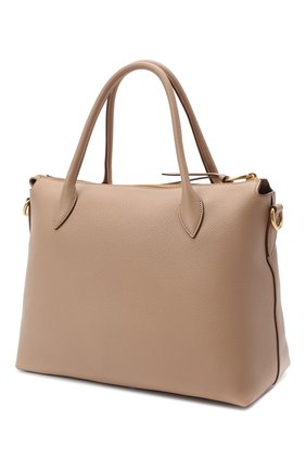 Женская сумка PRADA бежевого цвета, арт. 1BA157-2BBE-F0770-NOX | Фото 2
