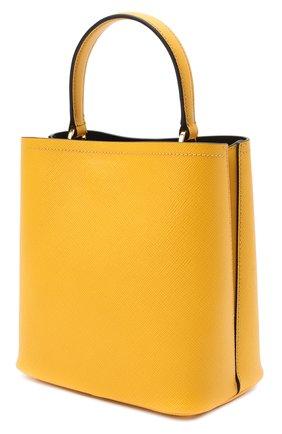 Женская сумка panier PRADA желтого цвета, арт. 1BA212-2ERX-F0CF3-OOO | Фото 2