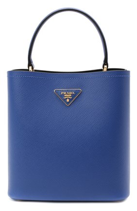 Женская сумка panier PRADA синего цвета, арт. 1BA212-2ERX-F0OZH-OOO | Фото 1