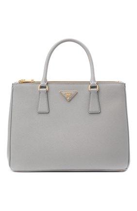 Женская сумка galleria PRADA голубого цвета, арт. 1BA274-NZV-F0424-DOO | Фото 1