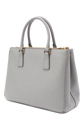 Женская сумка galleria PRADA голубого цвета, арт. 1BA274-NZV-F0424-DOO | Фото 2