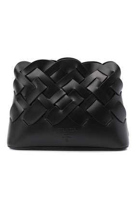 Женская сумка PRADA черного цвета, арт. 1BA290-2DI4-F0002-OOO | Фото 1