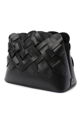 Женская сумка PRADA черного цвета, арт. 1BA290-2DI4-F0002-OOO | Фото 2