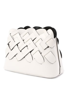 Женская сумка PRADA белого цвета, арт. 1BA290-2DI4-F0G3Z-OOO | Фото 2