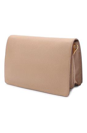 Женская сумка PRADA бежевого цвета, арт. 1BD159-2BBE-F0770-NOM | Фото 2
