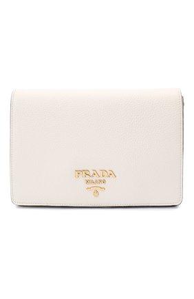 Женская сумка PRADA белого цвета, арт. 1BD159-2BBE-F0YGN-NOM | Фото 1