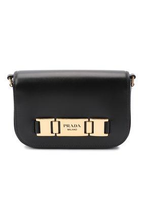 Женская сумка PRADA черного цвета, арт. 1BD244-2AIX-F0002-OMO | Фото 1