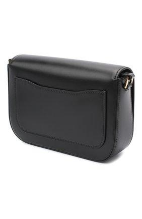 Женская сумка PRADA черного цвета, арт. 1BD244-2AIX-F0002-OMO | Фото 2
