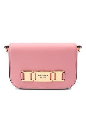 Женская сумка PRADA розового цвета, арт. 1BD244-2AIX-F0442-OMO | Фото 1
