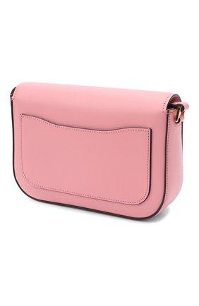 Женская сумка PRADA розового цвета, арт. 1BD244-2AIX-F0442-OMO | Фото 2