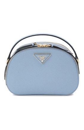 Женская сумка odette PRADA голубого цвета, арт. 1BH123-NZV-F0637-OOG | Фото 1