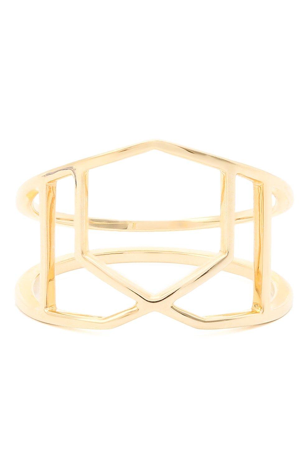 Женское кольцо JEWLIA золотого цвета, арт. 0102.JR-15 | Фото 1 (Материал: Золото)