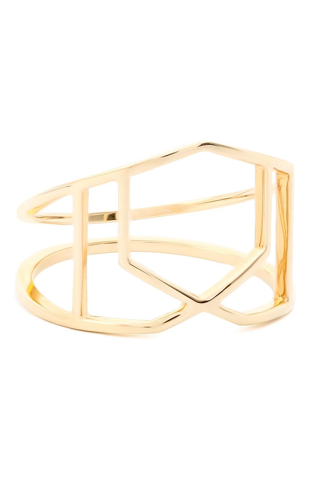 Женское кольцо JEWLIA золотого цвета, арт. 0102.JR-15 | Фото 2 (Материал: Золото)