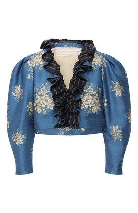 Женский жакет ULYANA SERGEENKO голубого цвета, арт. GCC003SS20P (0787т20) | Фото 1