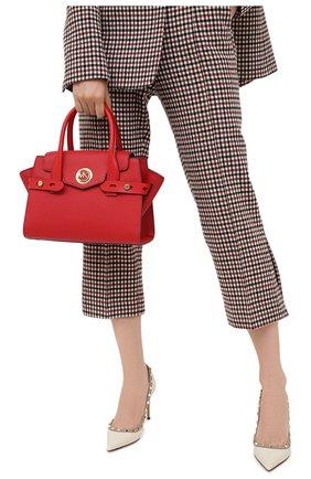 Женская сумка carmen small MICHAEL MICHAEL KORS красного цвета, арт. 30S0GNMS1L | Фото 2