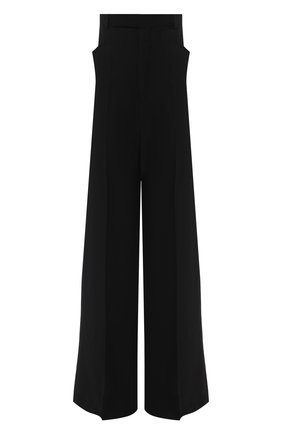 Женские брюки из вискозы и шерсти RICK OWENS черного цвета, арт. RP20F2311/WE | Фото 1