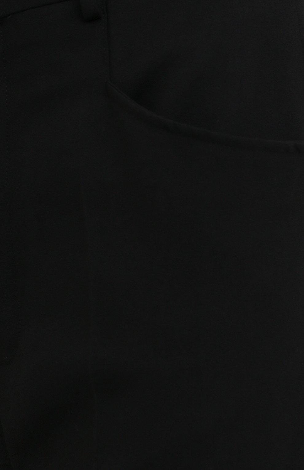 Женские брюки из вискозы и шерсти RICK OWENS черного цвета, арт. RP20F2311/WE | Фото 5