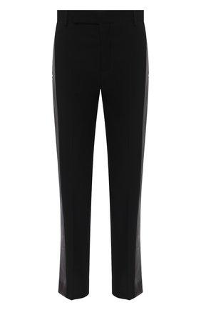 Женские брюки из шерсти и вискозы RICK OWENS черного цвета, арт. RP20F2304/WEQLX   Фото 1