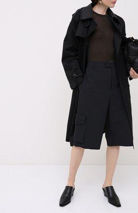 Женская пуловер из вискозы и шелка RICK OWENS серого цвета, арт. RP20F2202/RC   Фото 2