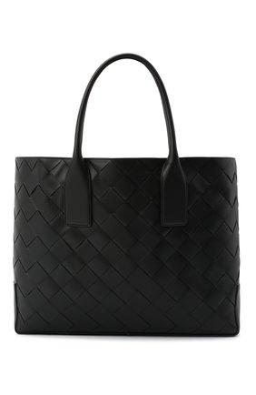 Женская сумка-тоут BOTTEGA VENETA черного цвета, арт. 629888/VCRU1 | Фото 1