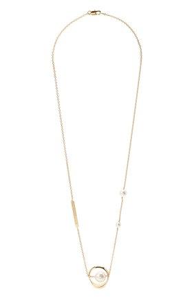 Женское колье MAISON MARGIELA золотого цвета, арт. S51UU0055/S12636 | Фото 1