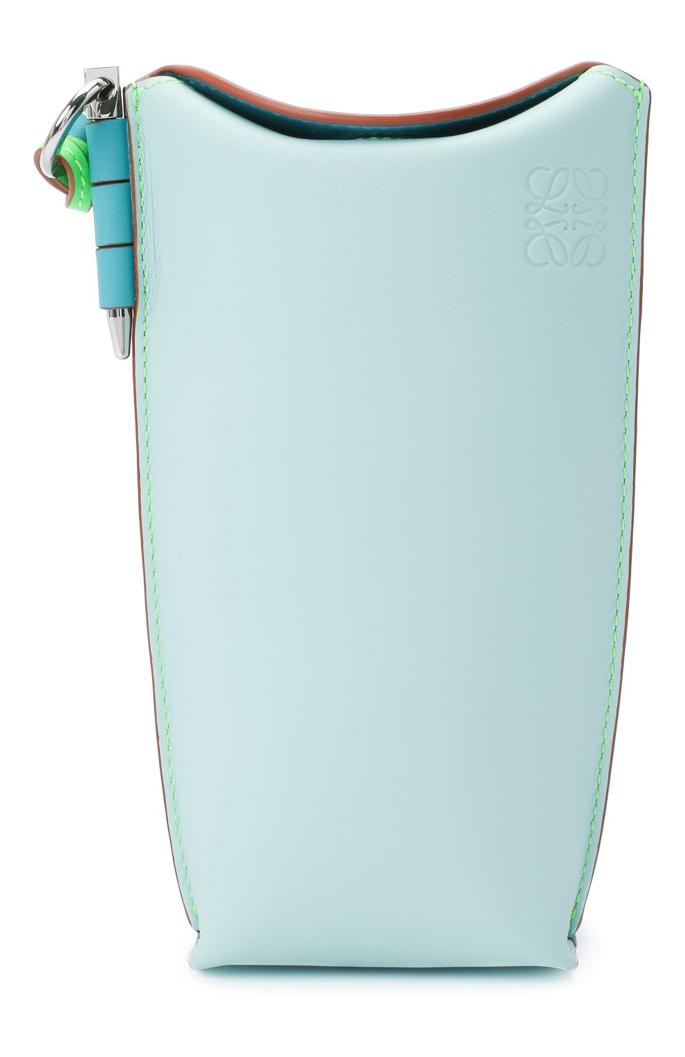 Женская сумка gate pocket loewe x paula's ibiza LOEWE голубого цвета, арт. C650Z42X20 | Фото 1