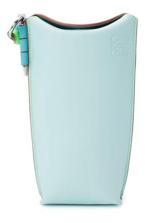 Женская сумка gate pocket loewe x paula's ibiza LOEWE голубого цвета, арт. C650Z42X20   Фото 1