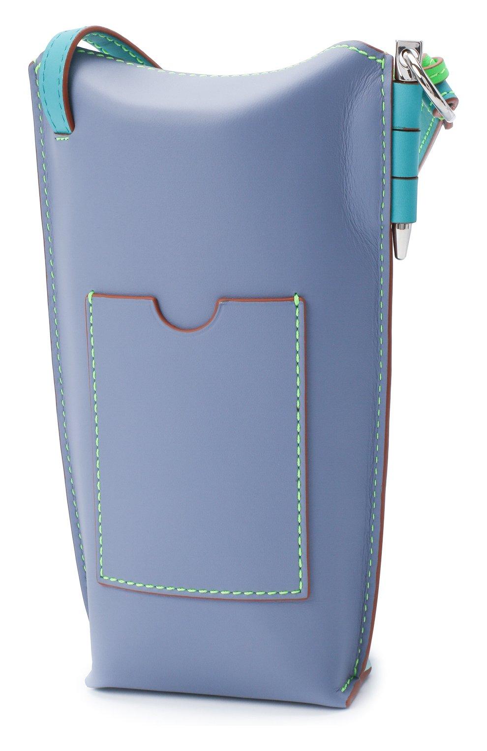 Женская сумка gate pocket loewe x paula's ibiza LOEWE голубого цвета, арт. C650Z42X20 | Фото 3