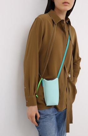 Женская сумка gate pocket loewe x paula's ibiza LOEWE голубого цвета, арт. C650Z42X20 | Фото 5