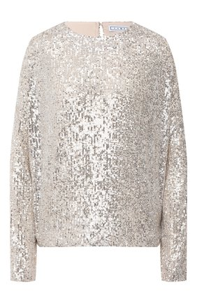 Женский пуловер IN THE MOOD FOR LOVE серебряного цвета, арт. ALEXANDRA T0P | Фото 1