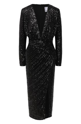 Женское платье с пайетками IN THE MOOD FOR LOVE черного цвета, арт. DALIDA DRESS | Фото 1
