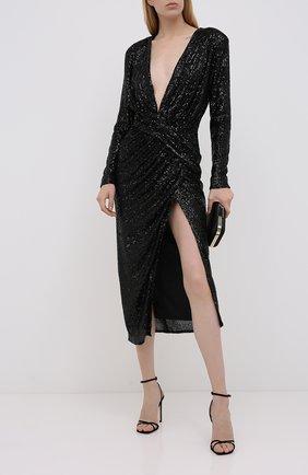 Женское платье с пайетками IN THE MOOD FOR LOVE черного цвета, арт. DALIDA DRESS | Фото 2